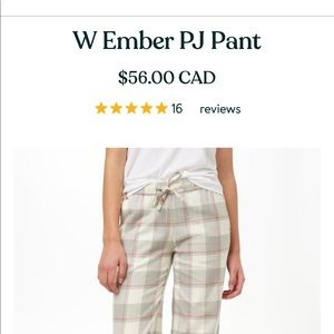 Ten tree With amber pyjama pants